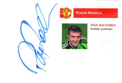 Paul-Rachubka-autograph-signed-Man-Utd-FC-football-memorabilia-player-profile-Manchester-United-goalkeeper-signature