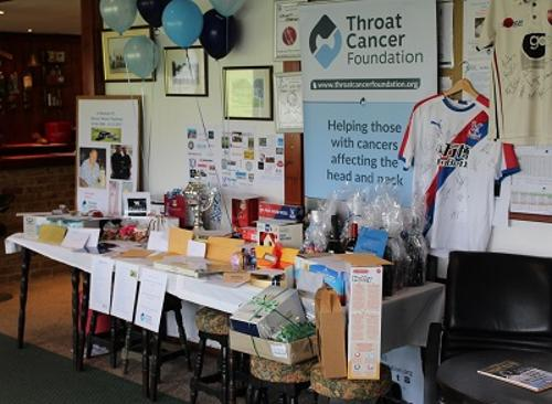 Pembury Cricket club charity day raffle prizes warren packman memorial throat cancer foundation wazza