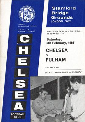 Peter-Osgood-autograph-signed-chelsea-football-memorabilia-ron-harris-signature-chopper-1966-programme-fulham-team-sheet-cfc-stamford-bridge
