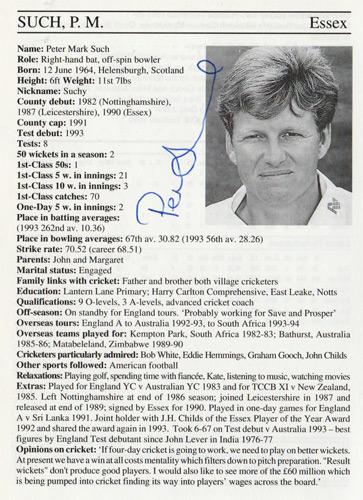 Peter-Such-autograph-signed-essex-cricket-memorabilia-eccc-England-off-spinner-whos-who-signature