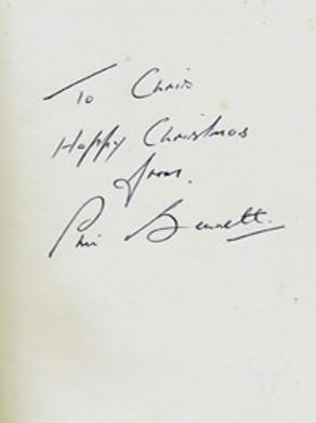 Phil-Bennett-autograph-signed-autobiography-Everywhere-for-Wales-rugby-union-memorabilia-book-British-Lions-Llanelli-RUFC-200