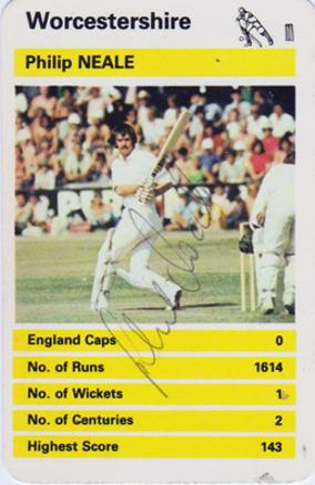 Phil-Neale-autograph-signed-worcs-ccc-cricket-memorabilia-worcestershire-england-all-rounder-captain-player-card-signature