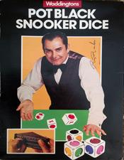 Pot-Black-memorabilia Snooker-memorabilia Dice-board Game-Ray-Reardon-memorabilia autograph-signature
