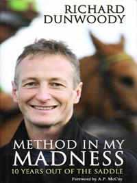 RICHARD-DUNWOODY-autograph-signed-autobiography-Method-in-my-Madness-horse-racing-memorabilia-saddle-cover