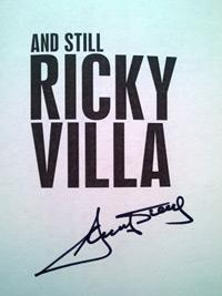 RICKY-VILLA-memorabilia-Spurs-football-memorabilia-signed-autobiography-And-Still-Ricardo-Argentina-autograph-book-signature