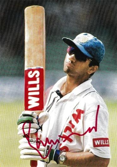 Rahul-Dravid-autographs-signed-india-cricket-memorabilia-the-wall-indian-ipl-kent-signature