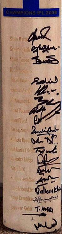 Rajasthan-Royals-IPL-signed-cricket-bat-Label-2008-Warne-Smith-Watson