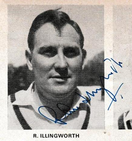 Ray-Illingworth-autograph-signed-england-cricket-memorabilia-yorkshire-captain-raymond