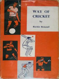 Richie-Benaud-memorabilia-Richie-Benaud-autograph-signed-book-Way-of-cricket-1962-australia-cricket-memorabilia-sportsmans-book-club-signature-aussie