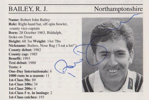 Rob-Bailey-autograph-signed-northamptonshire-cricket-memorabilia-northants-ccc-England-batsman-umpire-robert-signature