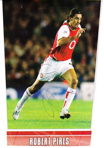 Robert-Pires-autograph-signed-Arsenal-FC-football-memorabilia-Gunners-signature-France