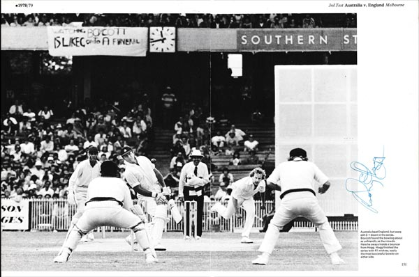 Rodney-Hogg-autograph-signed-australia-ashes-test-match-geoff-boycott.-third-test-melbourne