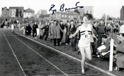 Roger-Bannister-autograph-signed-photo-first-sub-four-minute-mile-iffley-road-autographed-athletics-memorabilia-AAA-Chris-Brasher-Chataway