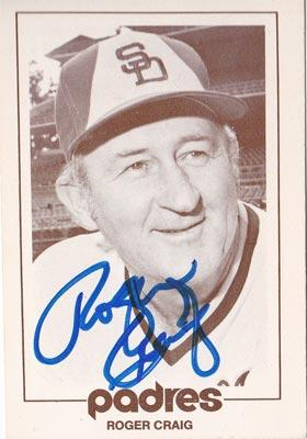 Roger-Craig-autograph-signed-san-diego-padres-baseball-memorabilia-manager-1977-special-events-card