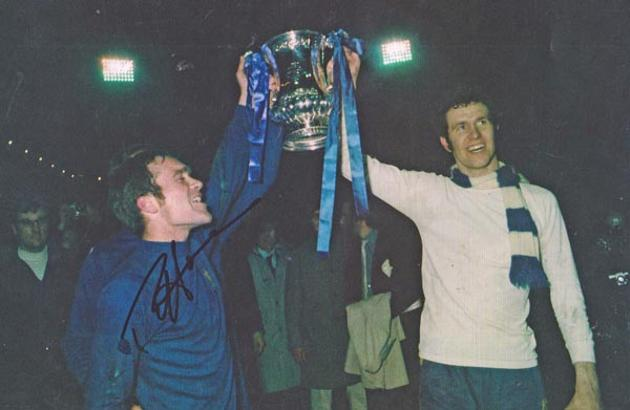 Ron-Harris-autograph-signed-chelsea-football-memorabilia-1970-fa-cup-final-winners-trophy-replay-peter-osgood