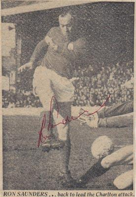 Ron-Saunders-autograph-signed-Charlton-Athletic-football-memorabilia-cafc-addicks
