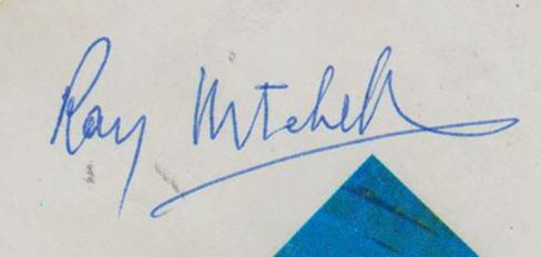 Roy-Mitchell-autograph-signed-Great-Britain-athletics-memorabilia-European-Cup-1977-semi-finals-programme-long-jump-1976-Commonwealth-Games-gold-champion-signature