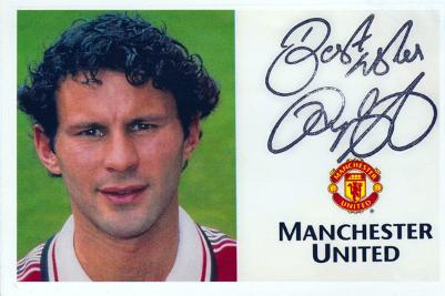 Ryan-Giggs-memorabilia-signed-man-utd-player-card-autograph-football-manchester-United