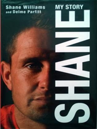SHANE WILLIAMS memorabilia Wales rugby memorabilia Ospreys Lions signed autobiography My Story autographed book