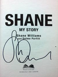 SHANE-WILLIAMS-memorabilia-Wales-rugby-memorabilia-Ospreys-Lions-signed-autobiography-My-Story-autographed-book-autograph