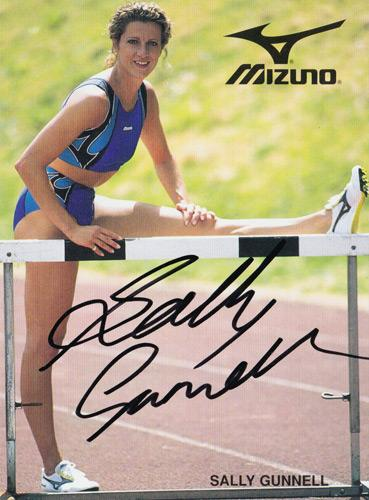 Sally-Gunnell-autograph-signed-athletics-memorabilia-1992-Barcelona-olympic-games-400-metres-hurdles-gold-medal-champion