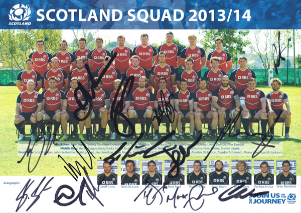 WALES RUGBY 2012 GRAND SLAM WINNERS AUTOGRAPHED SIGNED /& FRAMED PP POSTER PHOTO