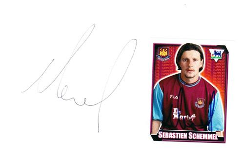 Sebastien-Schemmel-autograph-signed-west-ham-united-fc-football-memorabilia-whufc-hammers-utd-signature-nancy-metz-portsmouth-france