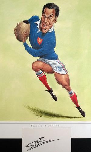 Serge-Blanco-autograph-signed-rugby-memorabilia-France-John-Ireland-print