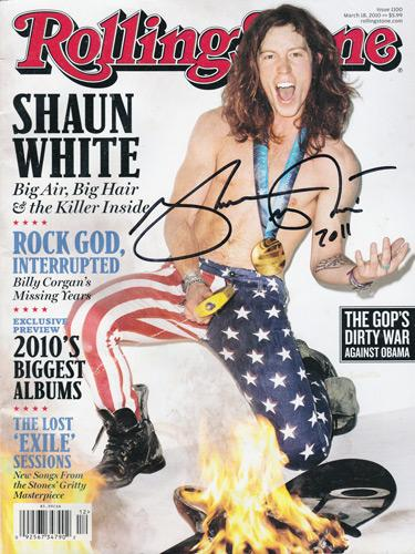 Shaun-White-autograph-signed-snowboarding-memorabilia-X-Games-Olympics-gold-medal-flying-tomato-half-pipe-USA-olympian-extreme-winter-Rolling-Stone-magazine-cover-2010