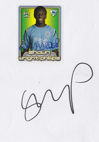 Shaun-Wright-Phillips-autograph-Man-City-football-memorabilia-hand-signed-player-card-signature-collectable-England
