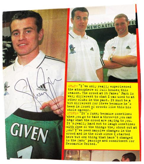 Shay-Given-autograph-signed-newcastle-United-Utd-football-memorabilia-signature-republic-of-ireland-goalkeeper-goalie-world-cup