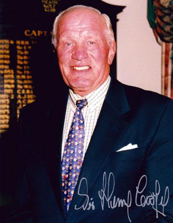 Sir-Henry-Cooper-signed-autograph-boxing-golf-Walton-Heath-photo