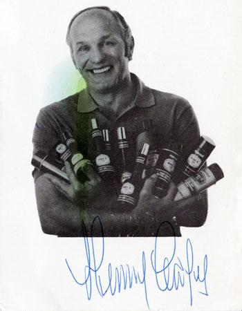 Sir-Henry-Cooper-signed-boxing-Brut-aftershave-advert-photo