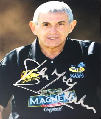Sir-Ian-McGeechan-autograph-signed-wasps-rugby-memorabilia-coach-british-lions-scotland-centre-geech-headingley-northampton-saints-leeds-carnegie-signature