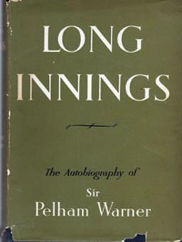 Sir-Pelham-Warner-england-cricket-memorabilia-book-autobiography-long-innings-first-edition-1951-plum-the-Grand-Old-Man-middlesex-middx-ccc-autograph-signature