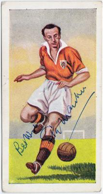 Sir-Stanley-Matthews-signed-Blackpool-FC-football-memorabilia-1956-chix-bubble gum card famous-footballers-autograph-Stoke