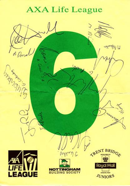 South-Africa-Proteas-Signed-Six-Hit-Card-Donald-Ntini-Kallis-Cronje-Cricket-Memorabilia