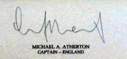 South-Africa-cricket-memorabilia-An-Historic-Moment-1st-Test-Match-England-Lords-July-1994-artist-Terence-Macklin-Michael-Atherton-signed-Kepler-Wessels-autograph-