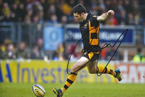 Stephen-Jones-signed-Wasps-rugby-union-memorabilia-Wales-RUFC-autograph