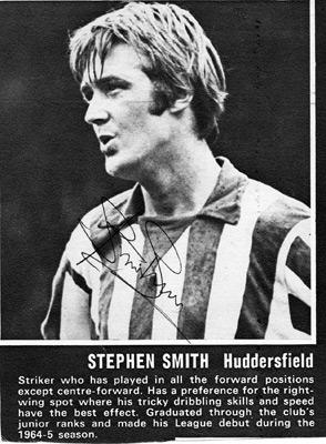 Stephen-Smith-autograph-signed-Huddersfield-Town-FC-football-memorabilia-signature
