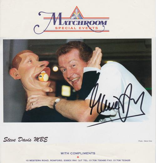 Steve-Davis-memorabilia-signed-snooker-photo-spitting-image-puppet-interesting-autograph-matchroom