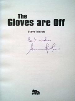 Steve-Marsh-signed-kent-ccc-cricket-memorabilia-autobiography-gloves-are-off-book-wicket-keeper-signature