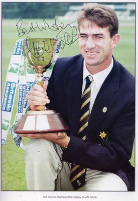 Steve-Watkin-autograph-signed-Glamorgan-Cricket-memorabilia-1998-benefit-brochure-gccc-testimonial-england-test-match-fast-bowler-wales-watts-signature