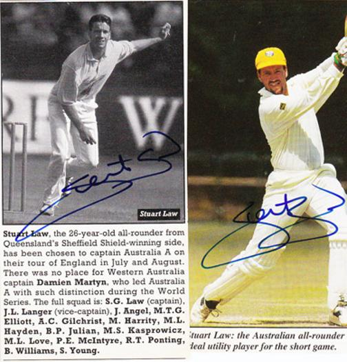 Stuart-Law-autograph-signed-Australia-cricket-memorabilia-all-rounder-aussie