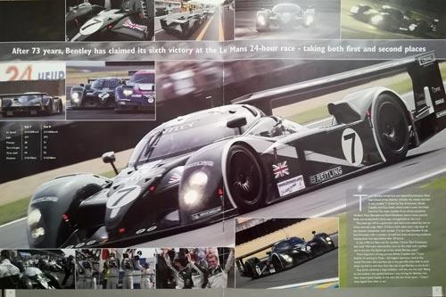 Team-Bentley-2003-Le-Mans-Special-magazine-booklet-associates-edition-history-driver-profiles-car-specifications
