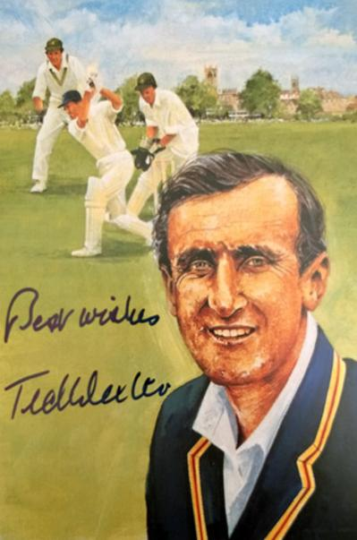 Ted-Dexter-autograph-signed-Sussex-cricket-memorabilia-England-signed-Edward-captain-Cavaliers-Lords-Taverners-Fifty-Greatest-book
