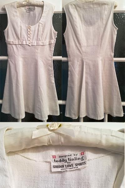 Teddy-Tinling-designer-tennis-dress-gordon-lowe-sports-memorabilia-wimbledon-haute-couture-fashion-white-vintage