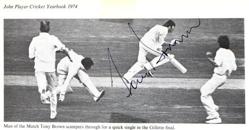 Tony-Brown-autograph-signed-gloucs-cricket-memorabilia-gloucestershire-ccc-1973-gillette-cup-final-victory-champions-trophy-captain-player-man-of-the-match-lords