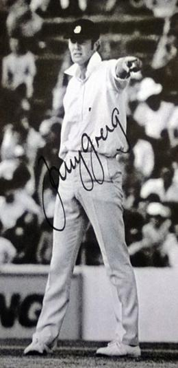 Tony-Greig-autograph-signed-Sussex-cricket-memorabilia-England-cricket-memorabilia-captain-Sussex-CCC--World-Series-WSC-Packer-Grovel