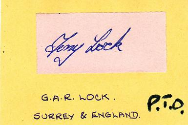 Tony-Lock-autograph-signed-Surrey-CCC-signature-card-county-cricket-memorabilia-England-test